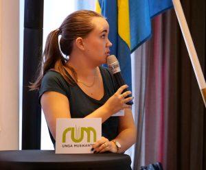 Sandra Hammarstrand, Förste vice Förbundsordförande, från stämman 2018