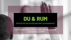 Val till RUM:s förbundsstyrelse