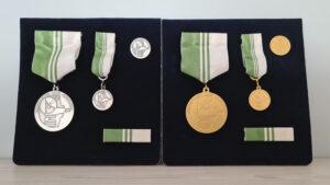 RUM:s Förtjänstmedaljer